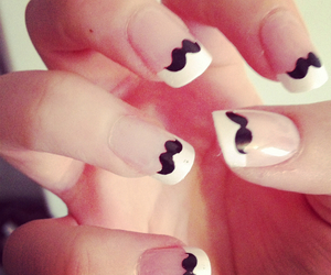 awesome, cool, and fake nails image
