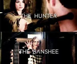 banshee, hunter, and teen wolf image