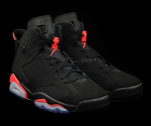 black, sneakers, and red image