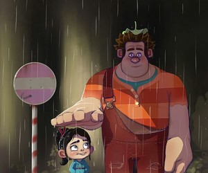 ralph, wreck it ralph, and vanellope image