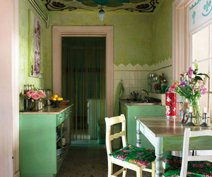 kitchen and green image