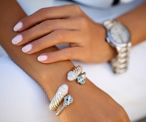 accessories, bracelet, and nails image