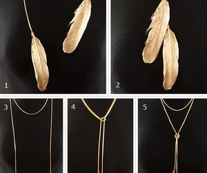 feather and necklace image