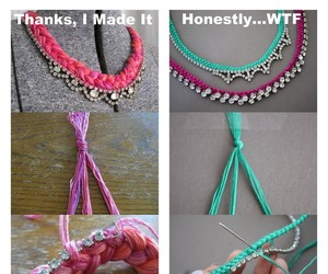 bracelet, diy, and tutorials image