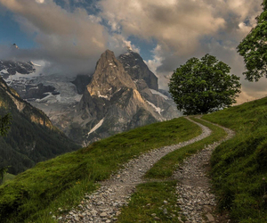 Alps, mountains, and switzerland image