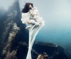 model, ocean, and underwater image