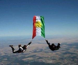 kurdistan, flag, and kurd image
