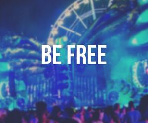 free, party, and be free image