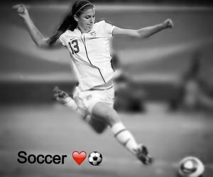 girl, soccer, and alex morgan image