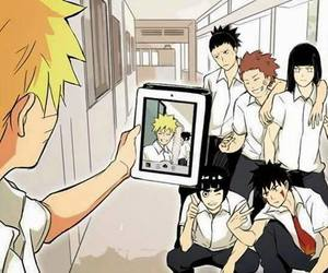 anime, rock lee, and neji hyuuga image