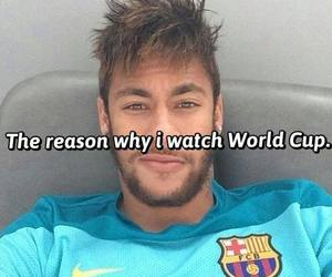 love, football, and world cup image