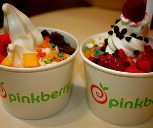 food, ice cream, and pinkberry image