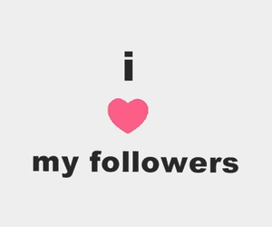 followers, heart, and stupid image