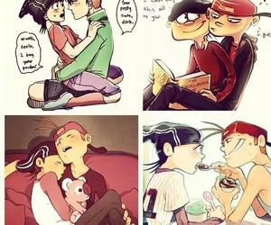 anime, cartoon, and couple image