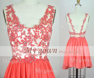 dress, homecoming, and Prom image