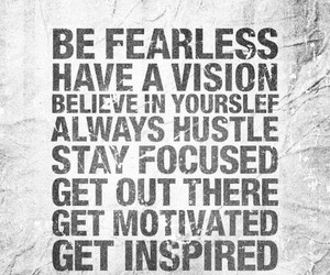 fearless and motivation image