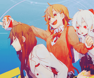 mekaku city actors, girls, and kawaii image