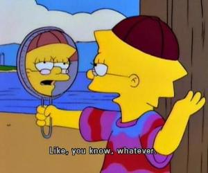 lisa, simpsons, and whatever image