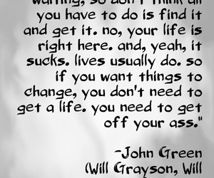 get a life, john green, and will grayson will grayson image