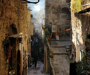 italy and dolceacqua image