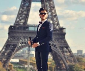 paris, man, and sexy image