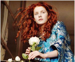 curly hair, red hair, and rachel hurd wood image