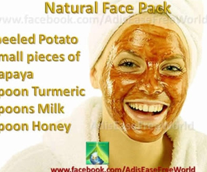 mask, pack, and peel image