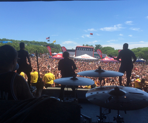 summer, we the kings, and vans warped tour image