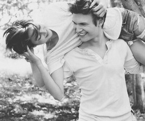 love, the fault in our stars, and couple image