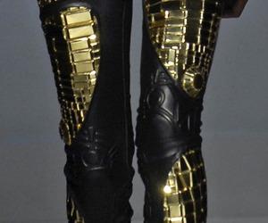 fashion, leggings, and black image