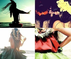 colores, dance, and flores image