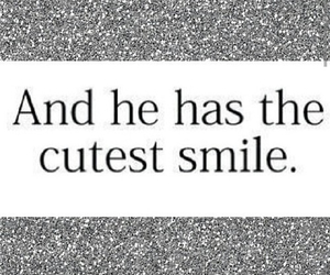 smile, cute, and quote image