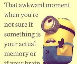 awkward, Dream, and minions image