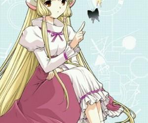 anime, chobits, and chii image