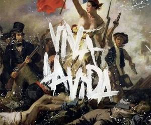coldplay, viva la vida, and music image