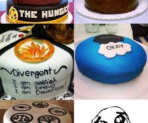 divergent, cake, and tfios image