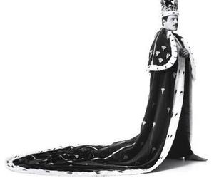 Freddie Mercury, king, and Queen image