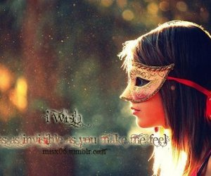 I WISH and typography image