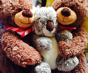 hugs and nounours image