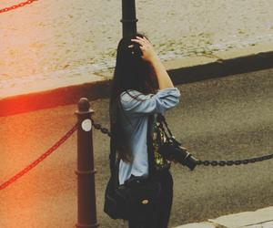 camera, casual, and girl image