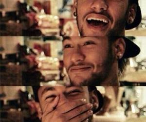 neymar, smile, and neymar jr image