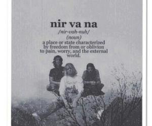 nirvana, band, and kurt cobain image
