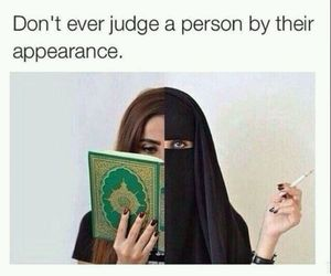 black, hijab, and quotes image