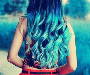 blue, i want, and hair image