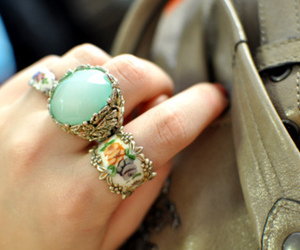 ring, fashion, and rings image