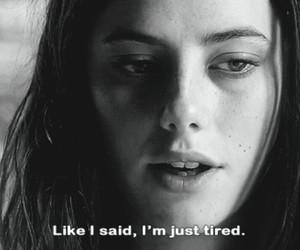 skins, tired, and sad image
