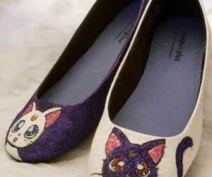 shoes, sailor moon, and cat image