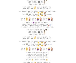 Lyrics, music, and sad girl image