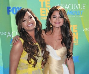 demi, gomez, and selena image