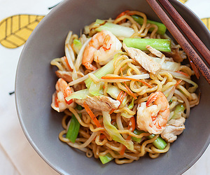 chinese, food, and shrimp image